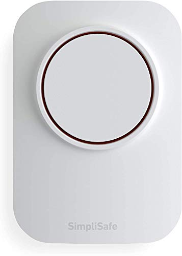 SimpliSafe Wireless 105Db Auxiliary Siren - Compatible with Home Security System