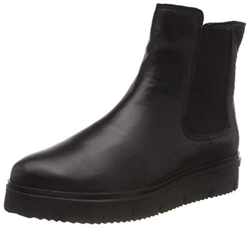 Bianco Damen Warm Cleated Chelsea Boots, Schwarz (Black 100), 38 EU