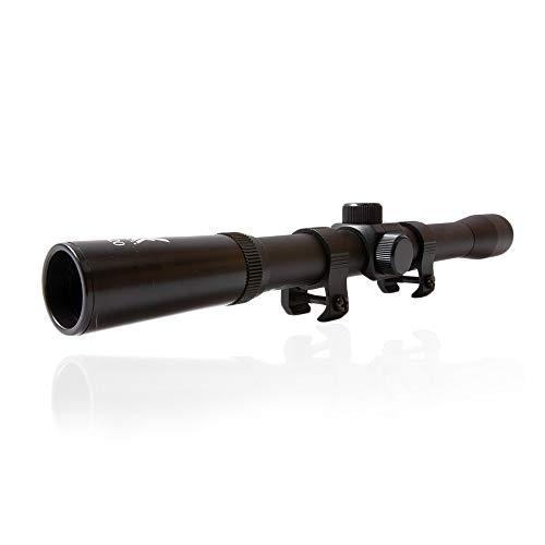 ShoXx 4x20 Luftgewehr Zielfernrohr Target-Serie +2 Montageringe