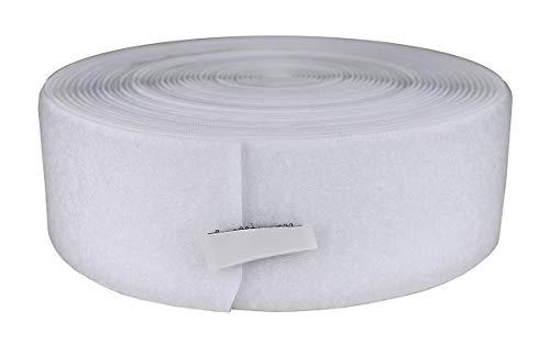 Fabrication Enterprises Schlaufenmaterial, 5,1 cm, 9,1 m, Weiß