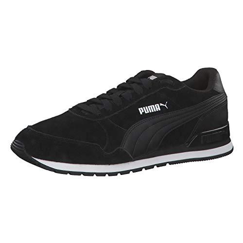 Puma Unisex-Erwachsene ST Runner v2 SD Sneaker, Black Black, 44 EU