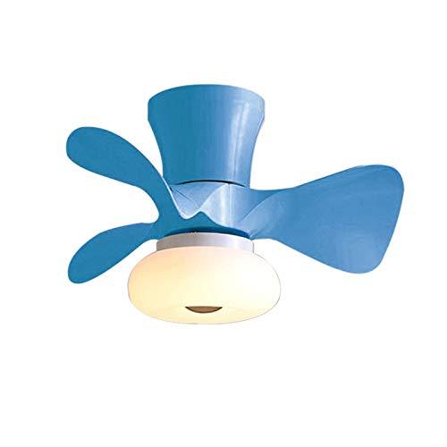 YIYUN Ventilatore da Soffitto con Luce E Telecomando Lampada Ventilatore Soffitto Creativo...