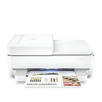 HP Envy Pro 6452 Wireless All-in-One Color Inkjet Printer Mobile Print Scan & Copy Instant Ink Ready 5SE47A  Renewed
