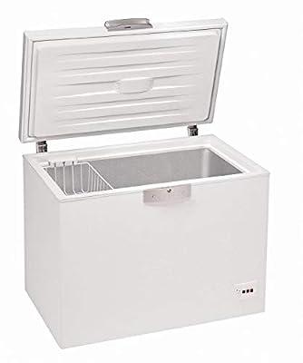 Beko HSA 13520 freestanding horizontal freezer white finish 75cm