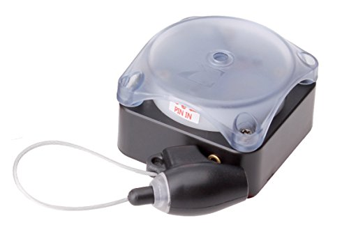 2X Multialarm elektronische Leinensicherung Aufroller für Ausstellungsstücke Diebstahlschutz