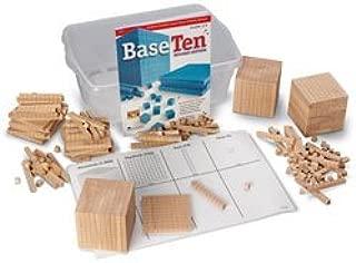 Nasco Wooden Base 10 Block Place Value Set - Math Education Program - TB12719