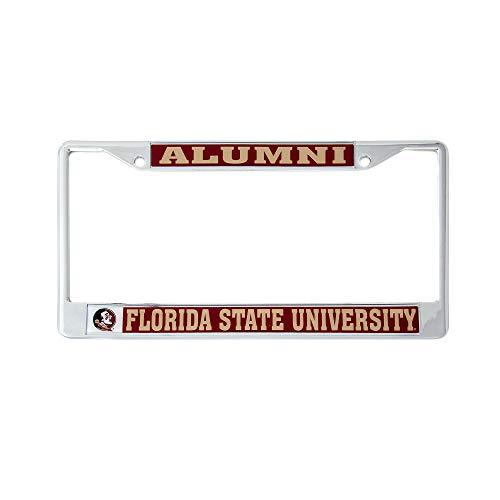 Desert Cactus Florida State University Alumni License Plate Frame for Front Back of Car Officially Licensed FSU Seminoles