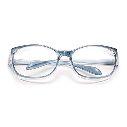 LianSan Anti-Fog Anti-Saliva Safety Glasses UV Protection HD Blue Light Blocking Goggles for Men Women Blue