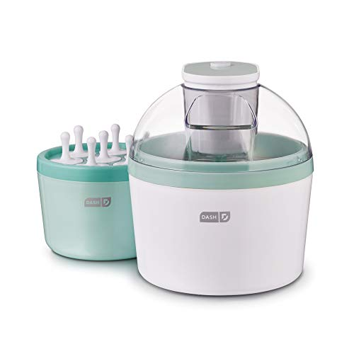 DASH DIC700AQ Everyday Popsicle Ice Cream Maker, 1 quart, Aqua