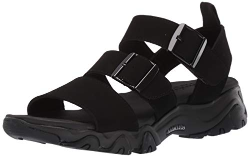 Skechers Damen 32998-BBK_38 Outdoor Sandals, Schwarz, EU