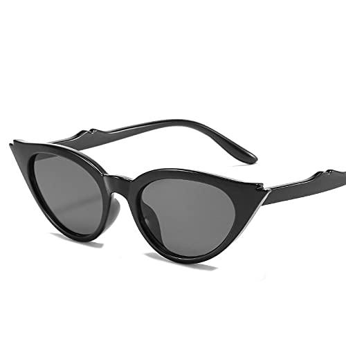 AMFG Gafas de sol de moda Gafas de sol del triángulo del ojo del ojo del gato unisex (Color : D)