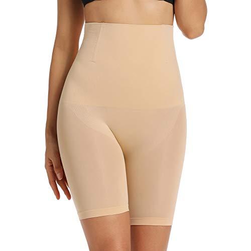 Joyshaper Damen Miederhose Hohe Taille Miederpants mit Bein Bauch Weg Taillenformer Nahtlose Unterwäsche Miederslip Figurenformende Shapewear Body Shaper