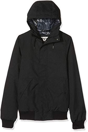 BILLABONG All Day 10K Jacket Chaqueta deportiva, Negro (Blac
