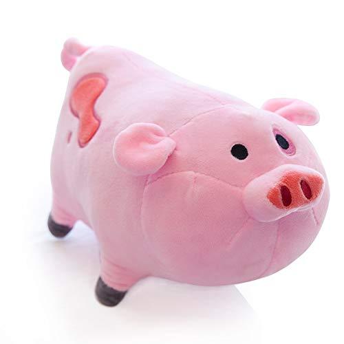 CGDZ Juguete de Peluche 1 unid TV Movie Gravity Falls Animal Lindo de Dibujos Animados de Juguete de Peluche Dipper Pink Pig Waddles Stuffed Soft Dolls Niños Regalos de cumpleaños 30 cm