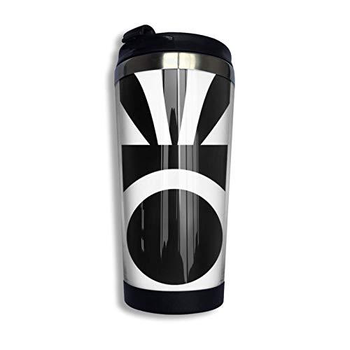 Ahdyr Taza de café de Viaje de Acero Inoxidable, Taza de Viaje Legacy de Patapon Taza de café Vaso Aislado al vacío de Acero Inoxidable de 13,5 oz