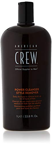 American Crew Power Cleanser Style Remover Shampoo, 1000 ml, 1er Pack, (1x 1 Stück)