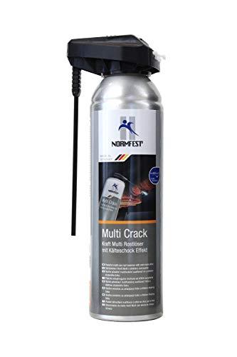 Normfest Kraft Multi Rostlöser 'Multi Crack' mit Kälteschock Effekt Spray Inhalt: 250 ml