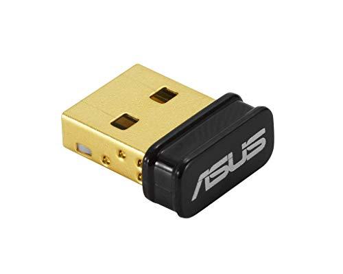 ASUS USB-BT500 - Adaptador USB Bluetooth 5.0 con diseño Ultra Compacto (Compatible con Bluetooth 2.1/3.x/4.x)