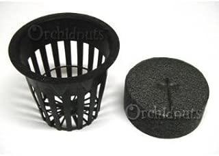 2 Inch Net Pot and EZ Clone Neoprene Collar Combo - 25 Pack