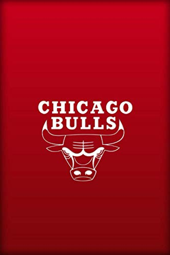 CHICAGO BULLS: (Basketball Club) Notebook / Journal / bloc note - 120 pages 6x9