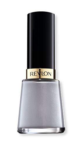 Revlon Nail Enamel, Chip Resistant Nail Polish, Glossy Shine Finish, in Black/Grey, 905 Sophisticated, 0.5 oz