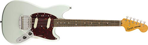 Squier by Fender エレキギター Classic Vibe '60s Mustang®, Laurel Fingerboard, Sonic Blue