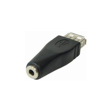 3x Usb Klinke Adapter Usb Buchse A Auf 3 5mm Klinke Computer Zubehör