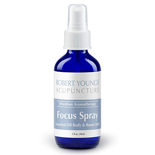 Focus, Energy Boosting Essential Oil Spray   Wake Up & Fight...