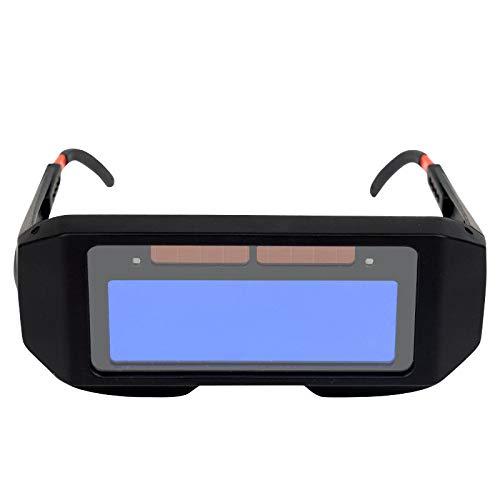 LKJYBG Gafas de soldar con oscurecimiento automático, gafas de soldar con cambio de luz automático, gafas antideslumbrantes para soldador