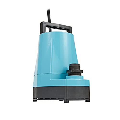 Little Giant 505025 1/6 HP Submersible Utility Pump