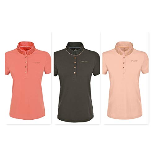 PIKEUR Damen-Premium-Polo-Shirt SAKINA, military, 36