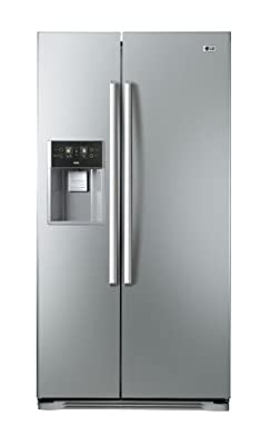 LG GWL207FSQA American Style Fridge Freezer Brushed Steel