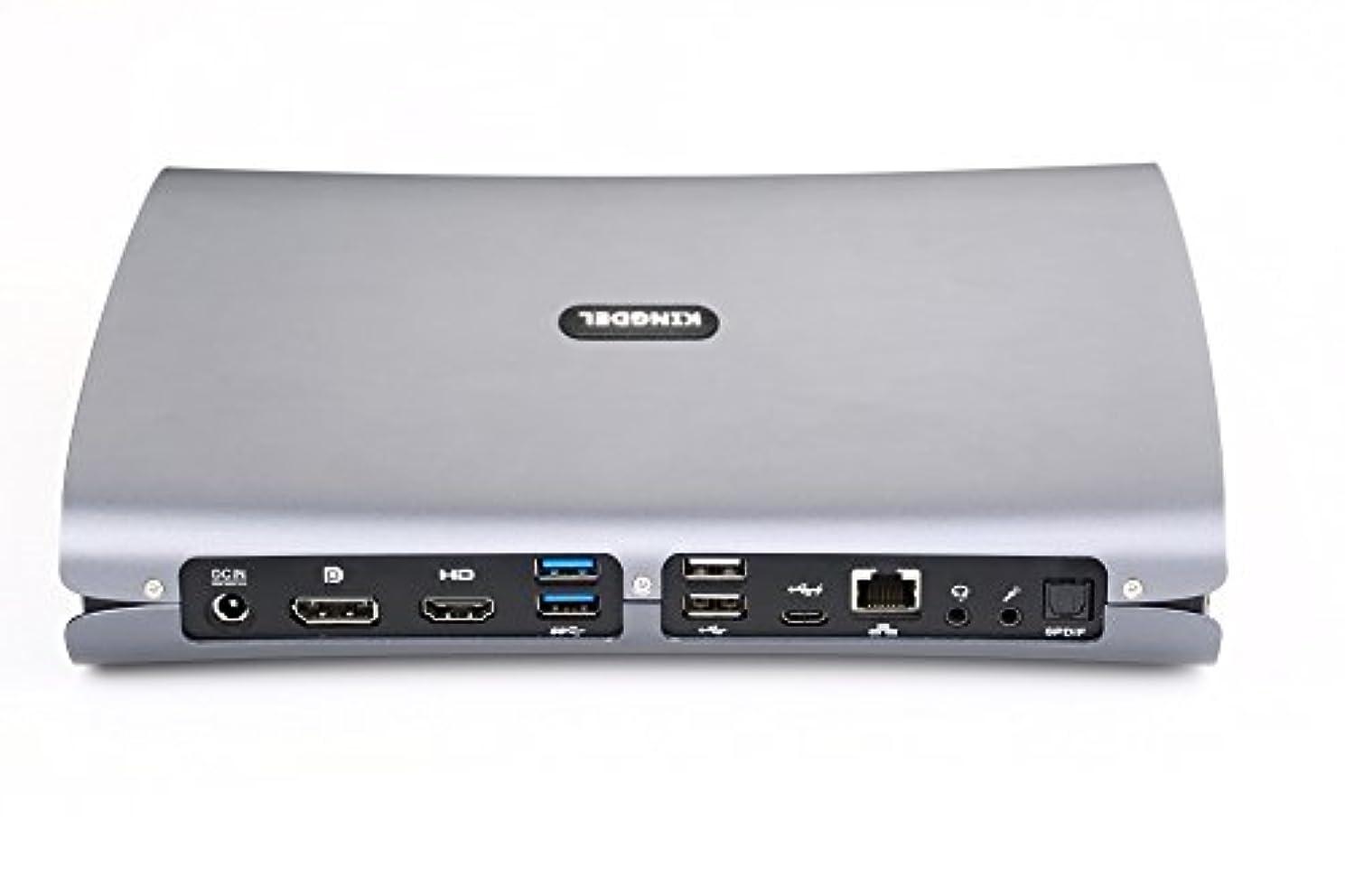Kingdel F500 Super Mini Desktop Computer with Intel i7-6700HQ Skylake CPU, 32GB DDR4 RAM, 512GB SSD, Dedicated Nvidia GTX 960M Graphics, 4K 4096x2304, Type-C, DP, HDMI, Windows 10 Pro