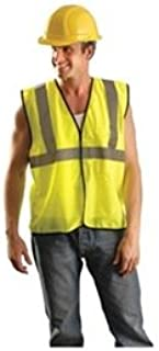 Occunomix ECO-GC Class 2 Value Mesh Safety Vest-Yellow/Lime-2/3X