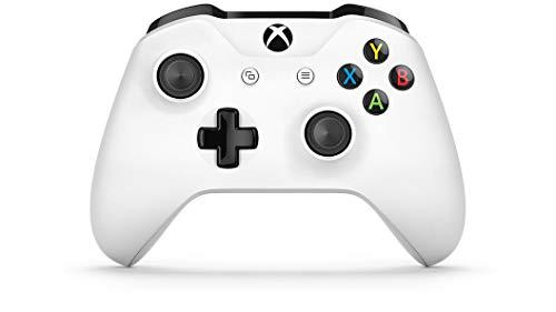 Microsoft - Mando Inalámbrico, Blanco (PC, Xbox One S)