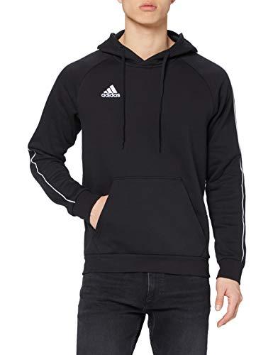 adidas Herren CORE18 Hoody Sweatshirt, Black/White, L
