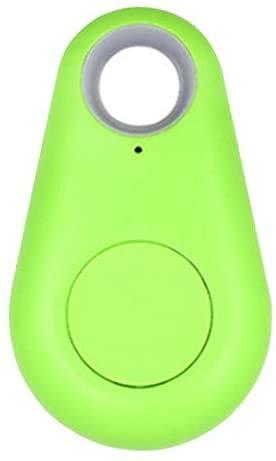Localizador GPS Inteligente para Personas Mayores, Dispositivo Alarma Anti Perdida, Muy Sencillo, También para Niños, Localizador de Monedero, Anti Robo, Rastreador de Llaves, Color Verde