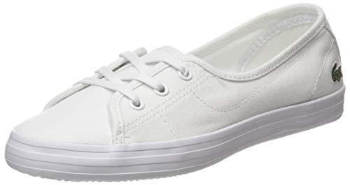 Lacoste Damen Ziane Chunky BL 2 CFA Sneaker, Weiß (White/White), 42 EU