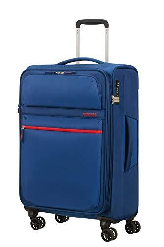 American Tourister Matchup Koffer, 68 cm, 78 Liter, Neon Blue