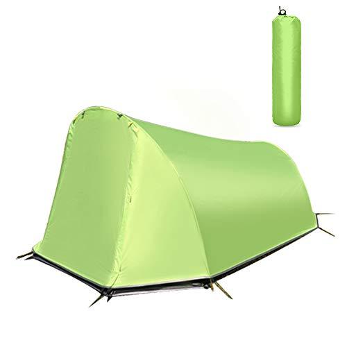 BENPAO Tente de randonnée pour Double Couche de Tente de Camping 2 Personnes 4 Saisons, imperméable pour la Chasse, la randonnée, l'escalade, Les Voyages en Plein air