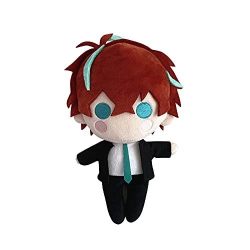 Anime Kissen Puppe Hypnosis Mikrofon Doppo Kannonzaka Weich Niedlich Gefüllte Puppe Spiel Figur Bequem Umarmung Kissen Sofa Weich Lendenwirbelsäule Rückenkissen Plüsch Stoffkissen Spielzeug
