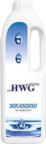 HWG Drops Konzentrat - Teppichreiniger Polsterreiniger Textilreiniger - Fleckenentferner - 1000 ml