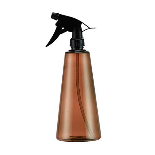 WXYPP Vacío de Vidrio ámbar de 750 ml Botellas del Aerosol Recargable del for los aceites Esenciales, Productos de Limpieza (Color : Brown, Size : 750ML)