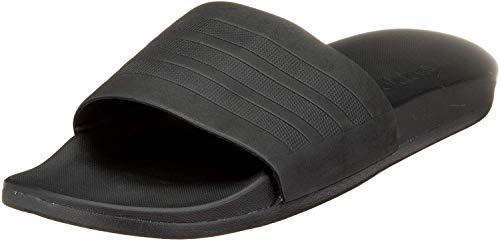 adidas Adilette Cf+ Mono, Herren Pantoletten Dusch- & Badeschuhe, Schwarz (Core Black/Core Black/Core Black), 44 1/2 EU (10 UK)