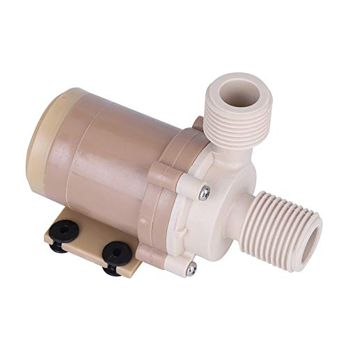 Ausla - Bomba de agua sin cepillo de corriente continua, bomba de cerámica, bomba de circulación de agua caliente solar de alta temperatura, resistente al calor