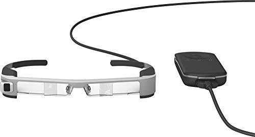 Moverio BT-300 Drone FPV Edition - Smart Glass zum Antrieb von Drohnen, Transparente Linsen, Stereoskopisches Sehen, Aufnahmen in Echtzeit, SI-OLED-Technologie
