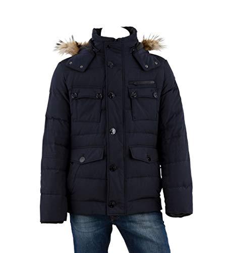 OTTO KERN Herren Jacke Regular Fit 30110 / 6538, Gr. 54, Blau (29blau)