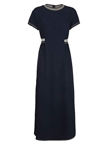 Ermanno Scervino Luxury Fashion Womens Dress Summer Blue