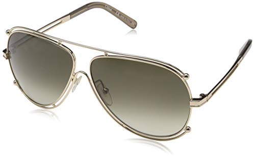 Chloé CE121S 743 61 Gafas de Sol, Gold/Brown, Mujer