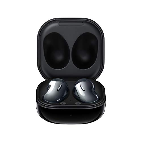 Samsung Galaxy Buds Live Auricolari True Wireless Open-type senza toppi In-Ear, Tre Microfoni, Controlli Touch, Ricarica Wireless, Cancellazione attiva del rumore, Mystic Black [Versione Italiana]